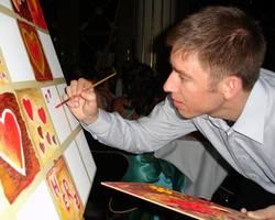 Menu: Kunstwoche für Flüchtlinge