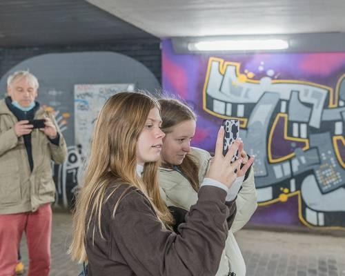 Tatorte - Auf den Spuren des Alltagsrassismus / der Alltagsgewalt in Laatzen © Daniel Junker