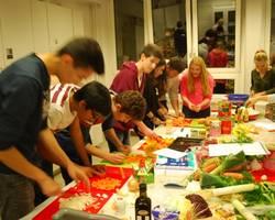 Menu: Young United Cultures