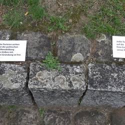Postkartenaktion Grundgesetz - Öffentlichkeitsarbeit Demokratie leben! Laatzen