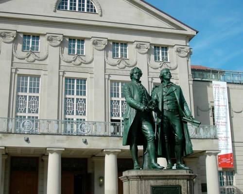Weimar und Buchenwald
