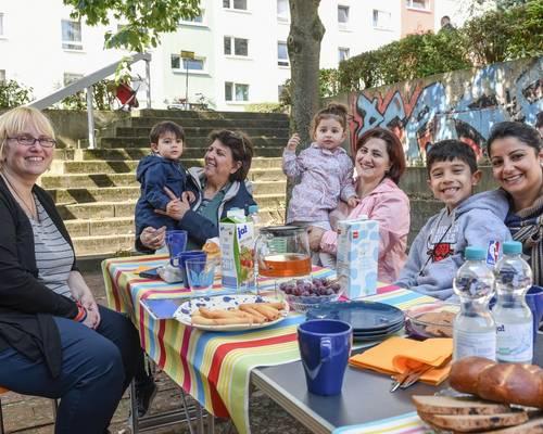 Gemeinsam unterwegs in Laatzen - Begegnung gestalten